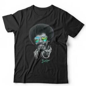 DJ Bob Ross Tshirt Unisex & Kids - Music, Painter, Art, Funny, Cool