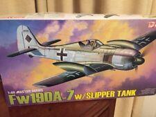 Dragon 5545 Focke Wulf Fw 190A-7 with Slipper Tank 1/48 scale plastic kit
