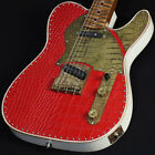 Paoletti Guitars Nancy Leather Top SS Red Leather sS/N:#79620t for sale