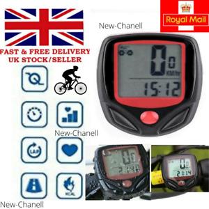 LCD Digital Waterproof Bike Computer Cycle Speedometer Wired