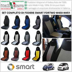 FODERE COPRISEDILI Smart Fortwo W450/W451 1998>2015 SuMisura Foderine VariColori