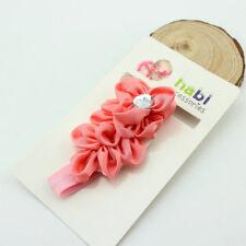 Newborn Baby Girls Flower Headband Headwear Elastic Hair Band Accessories TS01