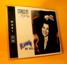 MAXI Single CD Concept Girls Ring My Bell 4TR 2001 Euro House Disco