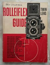 Vintage Rolleiflex Twin Lens Camera Guide Book 37th Edition 1969 Focal Press