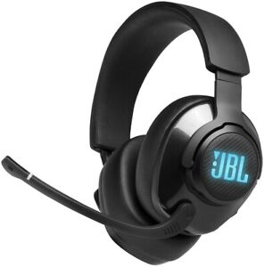 NEW JBL Quantum 400 Wired Over-Ear Gaming Headphones w/USB & Game Chat Balance ⚫