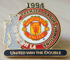MANCHESTER UNITED Victory Pins 1994 PREMIER LEAGUE CHAMPIONS Badge Danbury Mint
