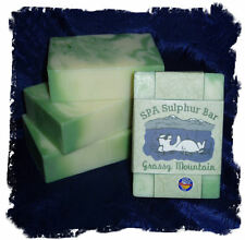 Clementine Lavender _Grassy Mountain SPA Sulphur Mineral Soap Made in Montana