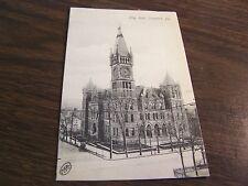 CITY HALL - SCRANTON PA - POST CARD  - USED