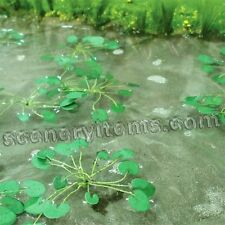 MP SCENERY 10 Water Lilies HO Scale Architectural Flowering Plants Railroad