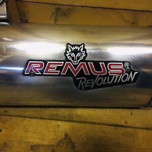 BMW R1150GS Exhaust Remus Revolution + Cat