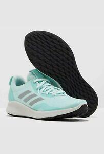 Women's Adidas Purebounce+ Street Clear Mint Running Shoes F34232 Size 9.5