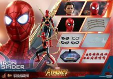 HOT TOYS MARVEL AVENGERS: INFINITY WAR IRON SPIDER SPIDER-MAN 1:6 FIGURE ~NEW~