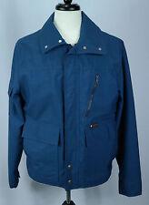 VTG 70's Men's Foxfire by Hirsch Weiss Blue Hunting Jacket/Coat Sz M EUC