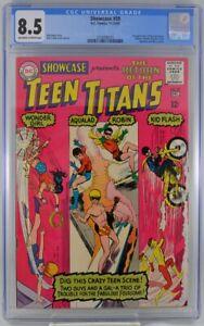 Showcase #59 CGC 8.5 1965 2nd Teen Titans