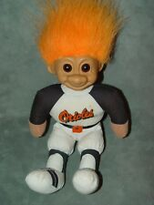 "Troll Doll 9"" Russ Plush Soft Body Baseball Orioles"