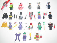 Lego ® Minifigure Figurine + Accessoire Batman Movie Le Film Choose Minifig NEW
