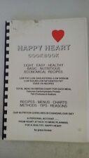Happy heart cookbook: Recipes, menus, charts, methods, tips, reasons Plastic Com