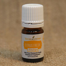 Young Living CITRUS FRESH VITALITY 5 mL E O NEW Unopen SHIP in 24 hrs RELAX JOY