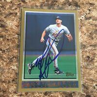Mark Grudzielanek Signed 1998 Topps Auto Montreal Expos