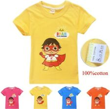c147696ea 2019 New Ryan Toys Review 100% Cotton T-Shirt Birthday Gift Girls Boys Top