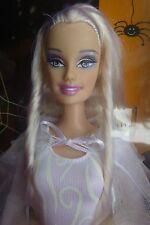Halloween Boo-tiful Barbie, White Witch,Platinum hair, dress glows in dark, NRFB