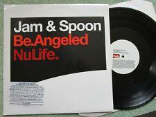 Jam & Spoon Be.Angeled NuLife JAM 003 PROMO Stickered  Vinyl 12inch Maxi-Single