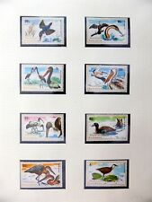 More details for rwanda 1975 beautiful birds set & m/sheets on 2 pages u/m nm609