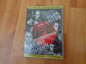 ULTIMATE FIGHTING CHAMPIONSHIP UFC 97 REDEMPTION DVD WWE