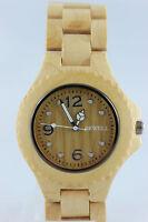 Bewell Holzuhr Damenuhr Herrenuhr 42mm A-Ware Dirndl Armbanduhr Tracht Geschenk