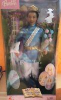 Barbie Fairy Tale Ken as the Prince AA black boy African American doll NEW 2003