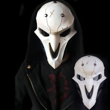 OW Reaper Mask with Lenses ABS Plastic Game Cosplay Halloween Party Prop Gift