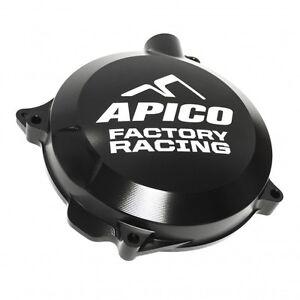 APICO FACTORY RACING BLACK MOTOCROSS CLUTCH COVER - KTM SX125 SX144 SX150 00-15