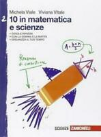 10 in matematica e scienze vol.2 Zanichelli scuola, Viale/viale, 9788808636515