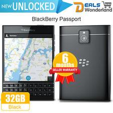 Unlocked New BlackBerry Passport 4G LTE Smartphone 32GB Black Hot Sale