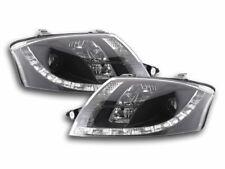 Coppia fanali fari 4250540137100 con LED per Audi TT 8N 98-06 neri