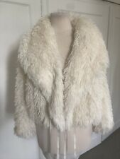 Patrizia Pepe Faux Fur Jacket Size Size IT40