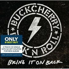 Buckcherry Bring It On Back 2 track cd single 2015  best buy global shipping