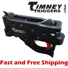 Timney Drop In Competition Trigger Group for Ruger 10/22 - Black Housing w/Red