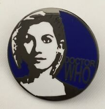 DOCTOR WHO THE 13th DOCTOR SOUVENIR BLUE ENAMEL PIN BADGE - RARE & COLLECTIBLE