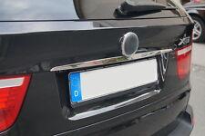 Chrom Kofferraumleiste aus Edelstahl passend für BMW E70 X5