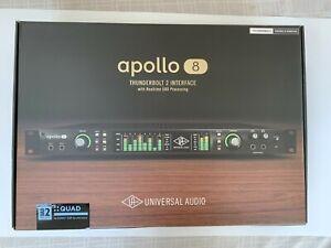 Universal Audio Apollo 8 Thunderbolt 2 - QUAD - Barely Used