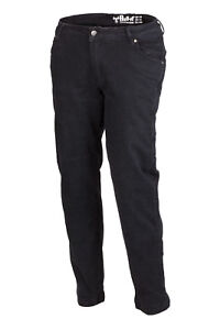 "Bull-it Covec Jeans - Ladies Ebony - Motorcycle Motorbike - Regular Leg (31"")"
