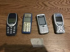 4 X mobile phone joblot Nokia 1100, Siemens MC60, C75, Nokia 3310