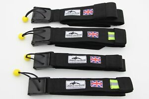 FOUR TYPES OF SUP QUICK RELEASE WAIST BELT.