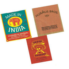 Death by Burrito,Hummus Bros,Made in India 3 Books Collection Set Brand New Pack