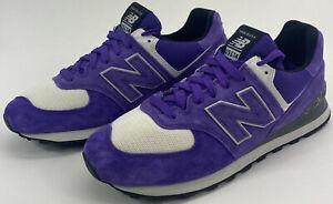 New Balance 574 Mens Size 10.5 D Made In USA GO USA ! Purple US574M1 Rare NWOB