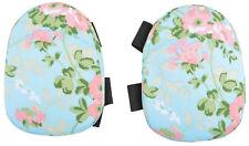 "Knee Pads Weeding Gardening Floral Rose Pattern Padded Kneeling Support 8"" x 6"""