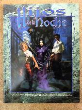 Libro Rol,Hijos de la Noche,Vampiro:La Mascarada,La Factoria