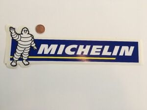Genuine Michelin Medium Sticker Decal (clear) New Old Stock