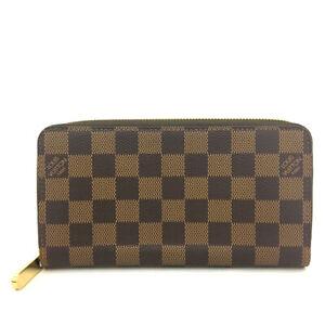 Louis Vuitton Damier Zippy Zip Around Long Wallet purse /82660